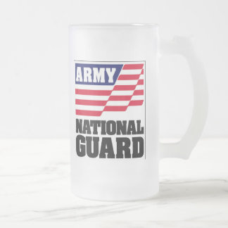 Army National Guard Frosted Mug