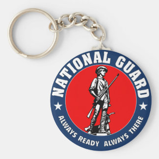 Army National Guard Military Logo Key Ring