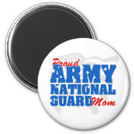 Army National Guard Mum 6 Cm Round Magnet