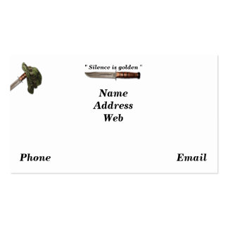 Army navy air force marines rangers lrrps lrrp sof pack of standard business cards