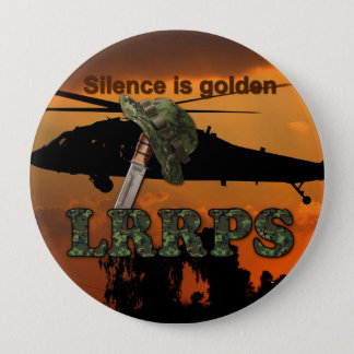 Army Navy Air Force Marines Rangers LRRPS Recon 10 Cm Round Badge