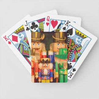 Army of Christmas Nutcrackers Bicycle Playing Cards