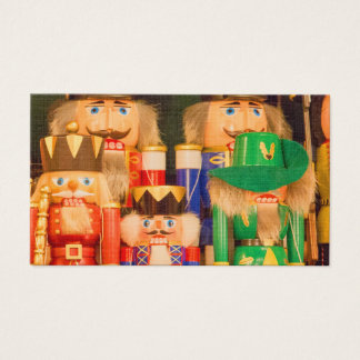Army of Christmas Nutcrackers Business Card