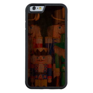 Army of Christmas Nutcrackers Carved Walnut iPhone 6 Bumper Case