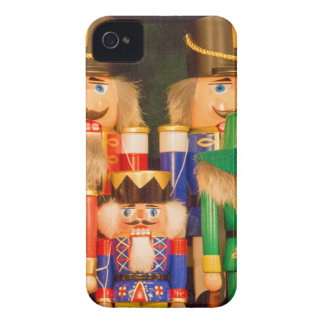 Army of Christmas Nutcrackers Case-Mate iPhone 4 Cases