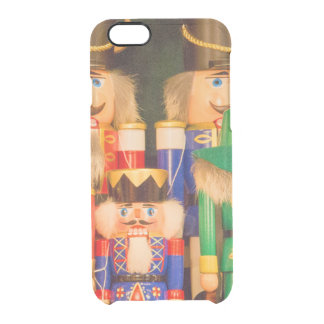 Army of Christmas Nutcrackers Clear iPhone 6/6S Case