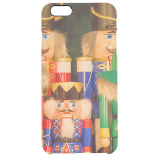 Army of Christmas Nutcrackers Clear iPhone 6 Plus Case