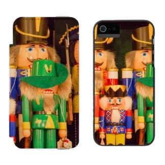 Army of Christmas Nutcrackers Incipio Watson™ iPhone 5 Wallet Case