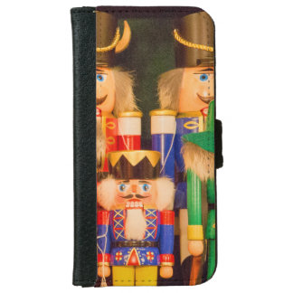 Army of Christmas Nutcrackers iPhone 6 Wallet Case