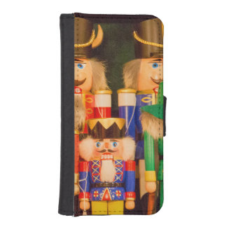 Army of Christmas Nutcrackers iPhone SE/5/5s Wallet Case