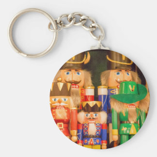 Army of Christmas Nutcrackers Key Ring