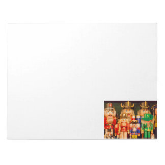 Army of Christmas Nutcrackers Notepad