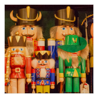 Army of Christmas Nutcrackers Poster