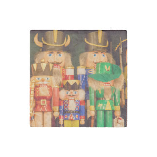 Army of Christmas Nutcrackers Stone Magnet