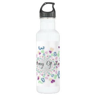 Army of love 710 ml water bottle