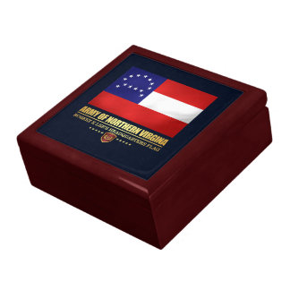 Army of Northern Virginia (F10) Large Square Gift Box