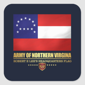 Army of Northern Virginia (F10) Square Sticker