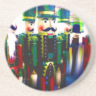 Army of Nutcrackers Seasonal Christmas Holiday Coaster