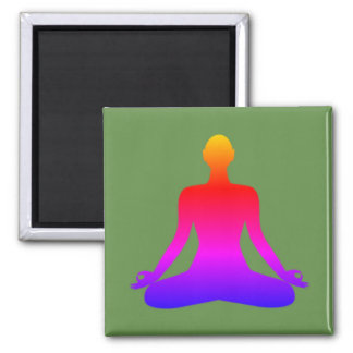 Army of Zen Square Magnet - Solo