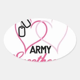 Army Oval Sticker