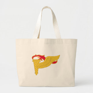 Army Pathfinder Insignia Large Tote Bag