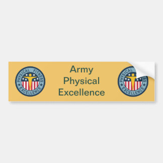 Army Physical Fitness Bumper Sticker