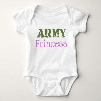 Army Princess Baby Bodysuit