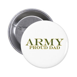 Army Proud Dad Buttons