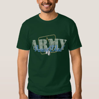 Army Proud Dad T Shirt