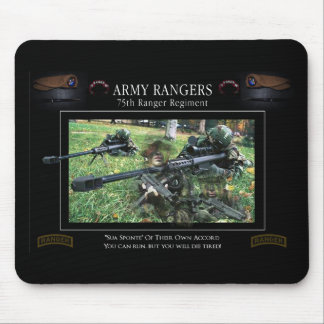 Army Ranger Mouspads Mouse Pad