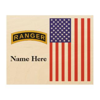 Army Ranger School - Wood Wall Art