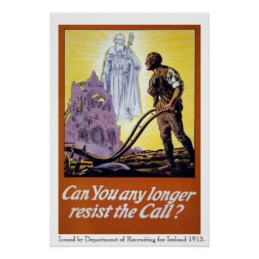 Army Recruitment WW!, Can You Resist the Call? Print