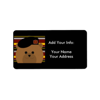 Army Return Address Labels