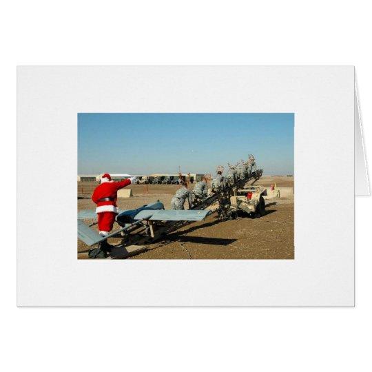 Army Santa Card