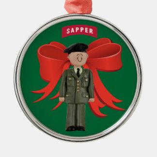 Army Sapper Premium Christmas Ornament