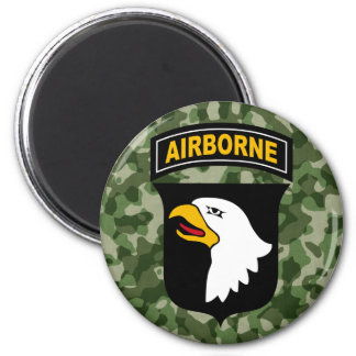 Army Screaming Eagle Magnet