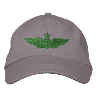 Army Senior Airman Embroidered Hats