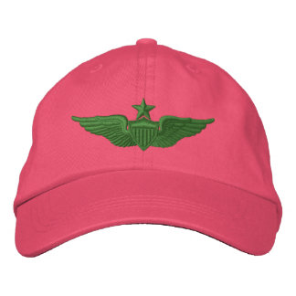 Army Senior Pilot Embroidered Baseball Cap