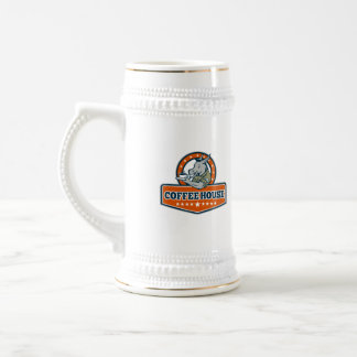 Army Sergeant Donkey Coffee House Cartoon Beer Stein