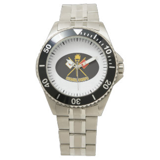 Army Signal Corps Watch by Poetry Lobby