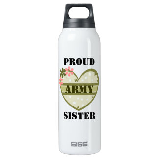 ARMY SISTER 0.5 LITRE INSULATED SIGG THERMOS WATER BOTTLE