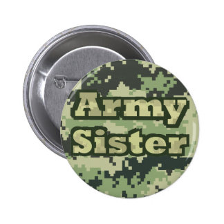 Army Sister 6 Cm Round Badge