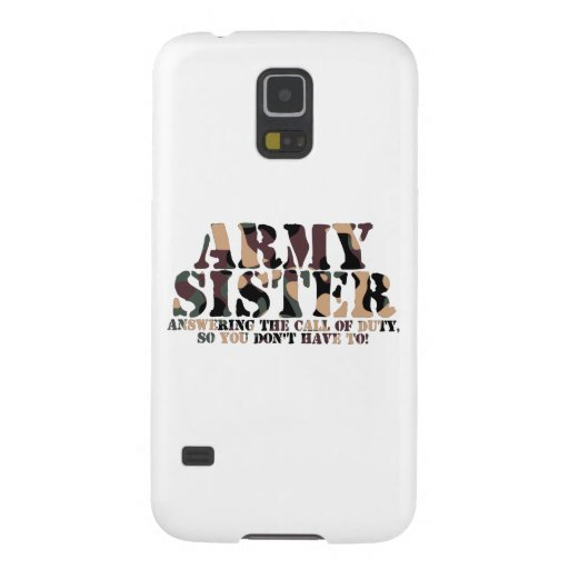 Army Sister Answering Call Galaxy Nexus Cases