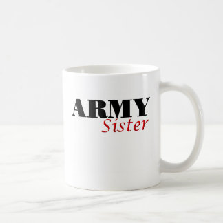 Army Sister (cursive) Mug