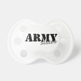 Army Sister Pacifiers