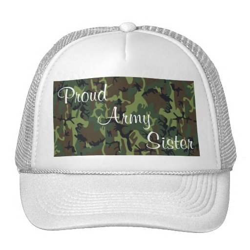 Army Sister Hat White