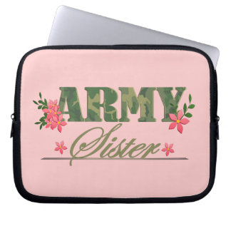Army Sister Laptop Sleeves