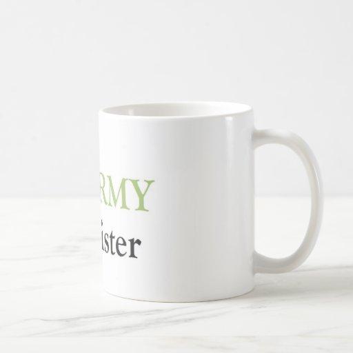Army sister coffee mugs