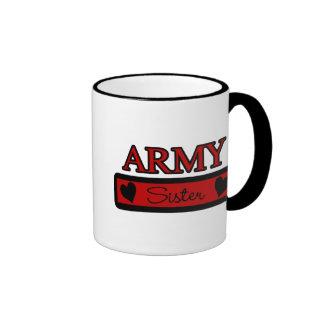 Army Sister Coffee Mug