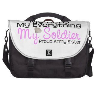 Army Sister My Hero Commuter Bag